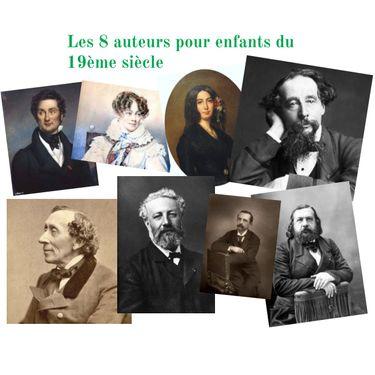 Les auteurs pour enfants au XIXe