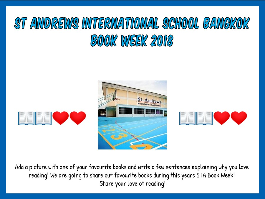 Book Week - Online Collaborative Project